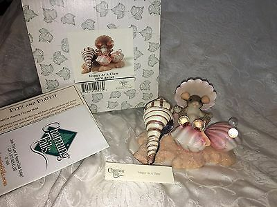 """Charming Tails """"happy As A Clam"""" Sea Shells Mouse Nib"""