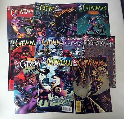 Vintage 1990s COMIC BOOK  CATWOMAN Jim Balent LOT (11) 26 thru 39 plus more