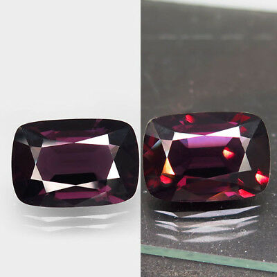 9.76ct.Very Beautiful! Natural Top Color Change Spinel Unheated 16x11mm.AAA Rar