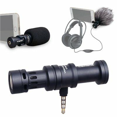 COMICA CVM-VS08 Condenser Shotgun Microphone For Smartphone iphone ipad ipod