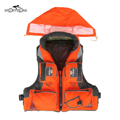 L-XXL Men Women Fishing Life Vest Fishing Life Jacket For Fathers Day Gift