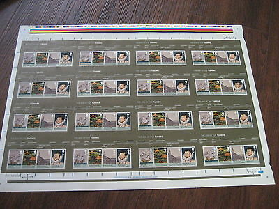 Press Sheet 2009 House Of Tudor Miniature Sheet  Uncut Sg Ms2930 Mnh Royal Mail