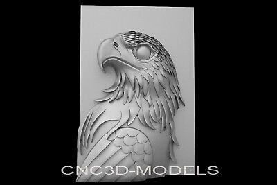 3D Model STL for CNC Router Engraver Carving Artcam Aspire USA Eagle Pano g614