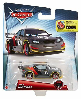 CARS CARBON RACERS Veicolo Max Schnell in Metallo Scala 1:55 - Mattel DHM77