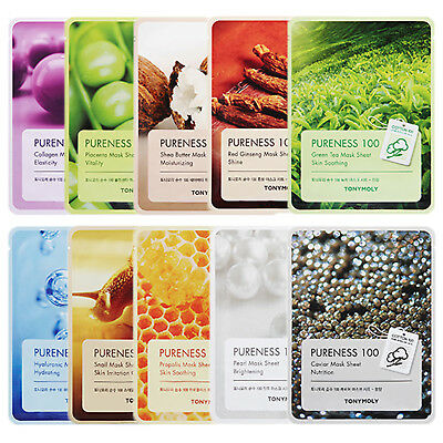 Tonymoly Pureness 100 Mask Sheet 21ml