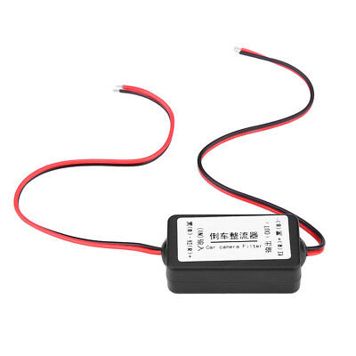 12V Relay Capacitor Filter Rectifiers for Car Rear View Back Up Reversing Camera