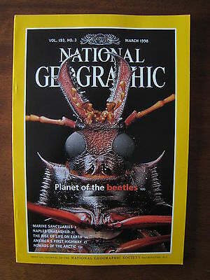 National Geographic Magazine - March 1998