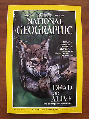National Geographic Magazine - March 1995