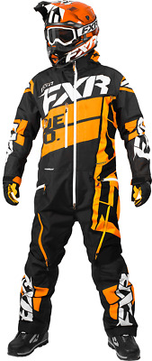FXR M Boost Lite Monosuit Black/Orange