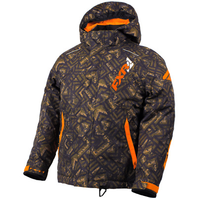 FXR Ch Squadron Jacket Army Track/Orange