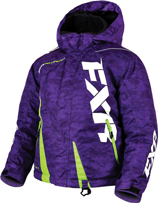 FXR Ch Boost Jacket Purple Digi/Lime