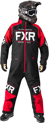 FXR M Clutch Monosuit Black/Red