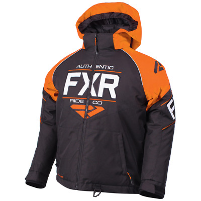 FXR Ch Clutch Jacket Black/Orange/White