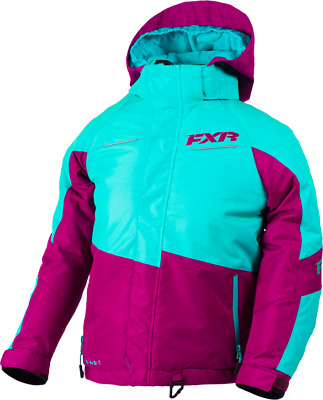 FXR Ch Fresh Jacket Mint/Wineberry