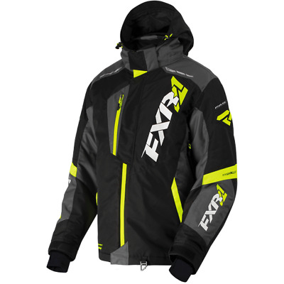 FXR M Mission FX-4 Jacket Black/Charcoal/Hi-Vis