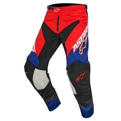 Alpinestars Racer Supermatic Pants in Red/Blue/White