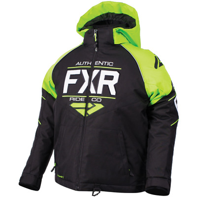 FXR Ch Clutch Jacket Black/Lime/White