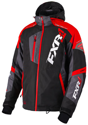FXR M Mission FX Jacket Black/Red/Char