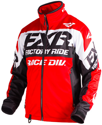 FXR Cold Cross Race Ready Jacket Red/Black/White