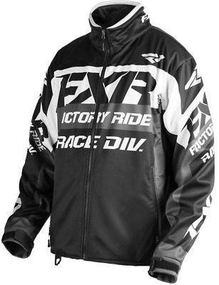 FXR Cold Cross Race Ready Jacket Black/White/Char