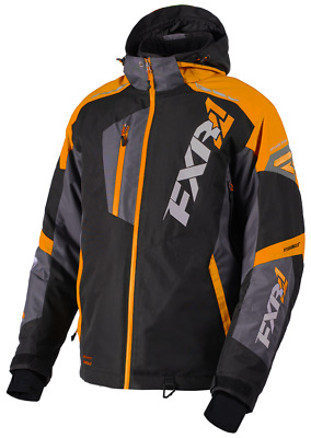 FXR M Mission FX Jacket Black/Orange/Char