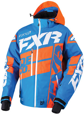 FXR M Boost X Jacket Blue/Orange/White