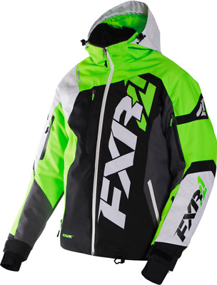 FXR M Revo X Jacket Black/White Weave/Lime