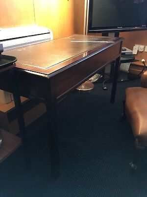 Antique desk / table with drawers