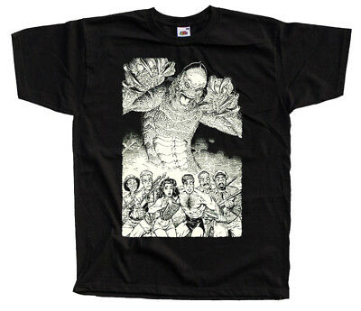 poster ALL SIZES S-5XL Creature from the Black Lagoon V33 PURPLE T-Shirt