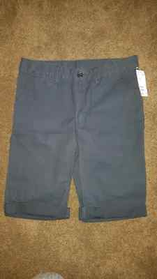 BNWT Boys Navy Shorts H&M sz 10-11 New neat casual dressy!