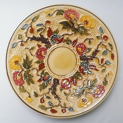 Very Large H J Wood Indian Tree Round Dish - Made in England