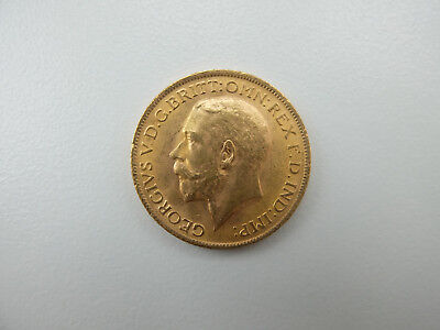 Großbritannien Georg V. 1910-1936  1 Sovereign GOLD 1915