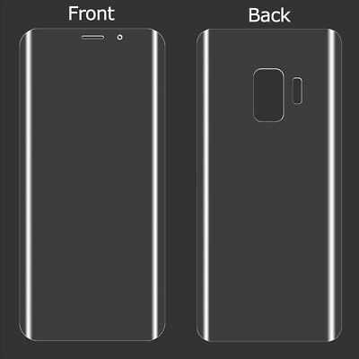 Front+Back Tempered Glass Screen Protector Film Premium For Samsung Galaxy S9+