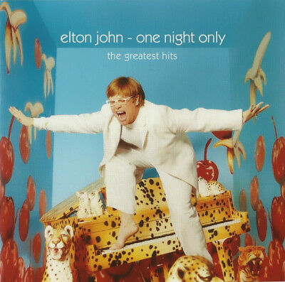 Elton John - One Night Only The Greatest Hits (2000) CD Album Best Of