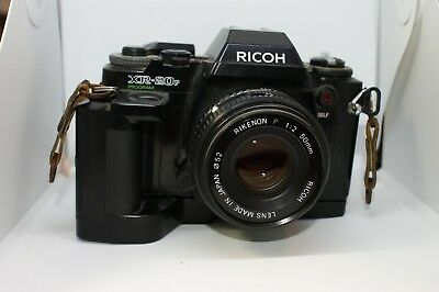 Ricoh XR-20sp program film camera UNTESTED WITH LENS AND SPEED WINDER