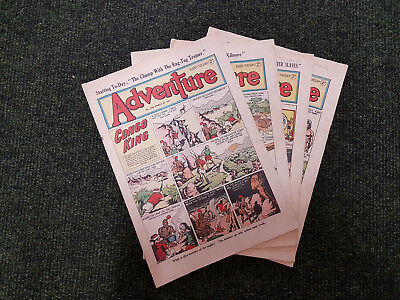 ADVENTURE COMIC - 4 issues from 1951- D. C. Thomson
