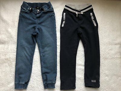 BOSS Kids Trousers x2 Age 6 (More like age 4-5)