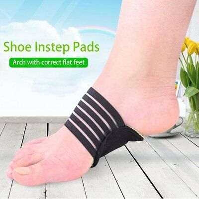 Shoe Insole Comfortable Instep Pad Insoles Foot Health Flat Foot Arch Support UG
