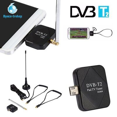 Micro USB DVB-T TV Knüppel Digital Tuner Für iPhone Android Tablets Handy Gut UG