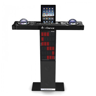 iDance XD300 Bluetooth Karaoke Party Station with Light Show inc Microphone