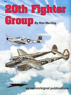 Squadron Signal 6176 20th Fighter Group ( Luftwaffe 2. Weltkrieg US Air Force )