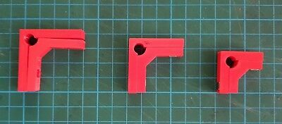 Model Makers 90° degree Right Angle Magnetic Clamps (2 Pairs) - in 3 Sizes