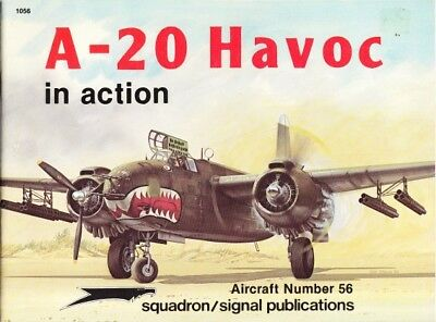 Squadron Signal Aircraft 56 A-20 Havoc in action ( 2.Weltkrieg Luftwaffe )