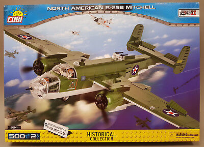 COBI World War II Historical Collection North American B-25B Mitchell 5541