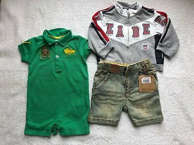 Boy D&G, Polo, Timberland Age 9M