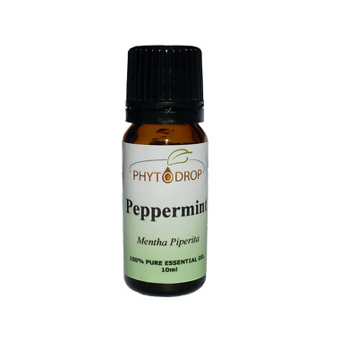 PHYTODROP Peppermint Essential Oil 100% Pure Natural 1ml 10ml 50ml 100ml