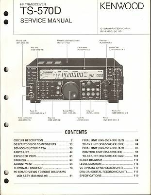 Kenwood R599 manual