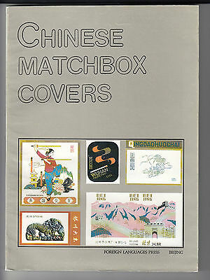 Buch ,  Chinese  Matchbox  Covers  .....