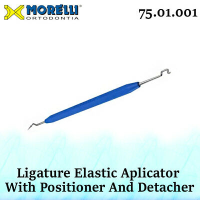 Dental Orthodontic Morelli Elastic Ligature Applicator Positioner And Detacher