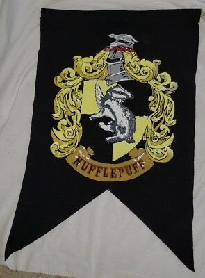 """Harry Potter Hufflepuff Wall Banner Flag 20"""" X 30"""" Party Prop Decorations"""